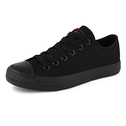 Sneakers best-boots da donna scarpe da ginnastica atletica scarpe Cords Slipper allblack