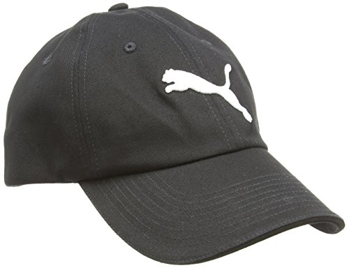 Puma, Cappello Essential Unisex adulto, Nero (Black-Cat Logo), Taglia unica