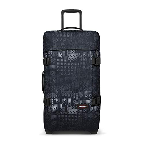 Eastpak Tranverz M Trolley, 67 cm, 78 litri, Nero (Black)