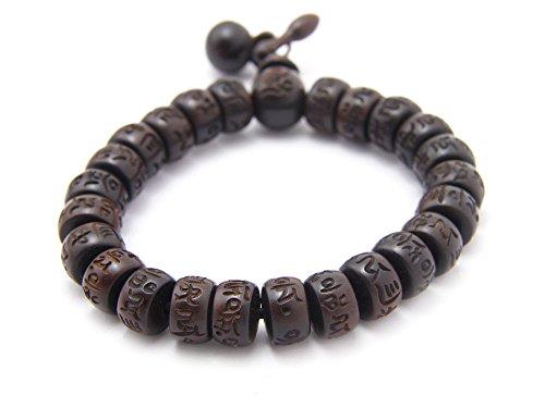 agathe-creation-pulsera-rosario-budista-perlas-de-madera-de-ebano-esculpida-acabada-con-2-objetos-mu