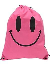 Designeez Large Shoulder Backpack Drawstring Sliced Garment Storage Bag Waterproof Bag Shoe Bag Beach Swimming... - B079PZ58B1