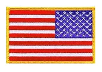Patch Ecusson Brodé US Army Classic - Thermocollant - Bras Droit - USA Flag - Airsoft - Paintball - Outdoor