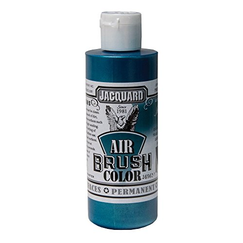 Jacquard Airbrush Color 4Oz Iridescent Teal by Jacquard