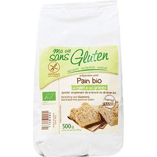 Préparation pour pain au millet et aux graines