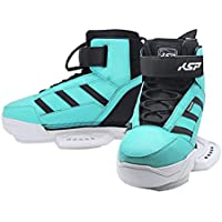 KSP Boots PRO Stronger BINDINGS 2020 Blue, Yellow e Orange per Wakeboard Kitesurf Board Kiteboarding Kite
