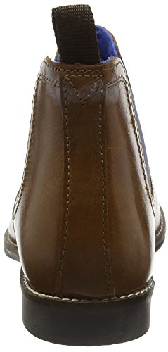 Red Tape Herren Stockwood Chelsea Boots Braun (Tan Leather / Blue)