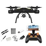 Oddity FPV RC Drone Quadcopter WiFi 1080P HD Caméra Télécommande Avions Grand-Angle Vidéo en direct GPS Avions Maquettes - Suivez-moi Contrôle APP Contrôle 3D Flip One Key Return Opération facile