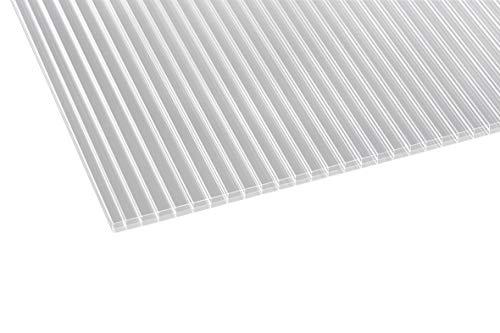 PC Hohlkammerplatte Doppelstegplatte ECO-16 Stegplatten Maß auswählen 4000x980mm