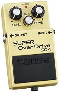 Boss SD-1 Super Overdrive, Effektgerät für E-Gitarre