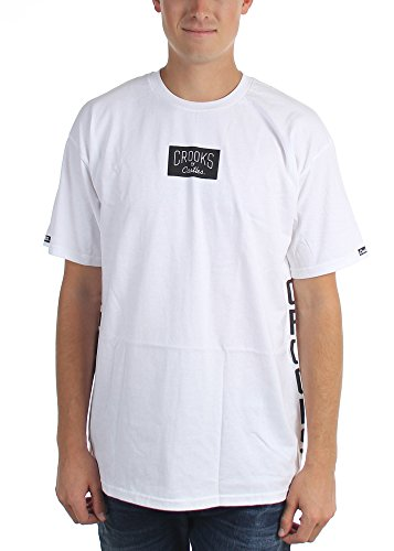 Crooks & Castles Herren T-Shirt schwarz schwarz 3XL Weiß