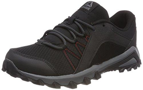 Reebok Trailgrip 6.0, Chaussures de Marche Nordique Homme, Noir (Black/Rich Magma/Alloy), 42 EU
