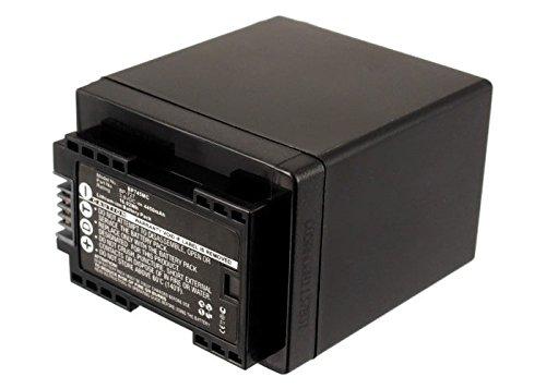 subtel® Qualitäts Akku für Canon LEGRIA HF R306, HF R506, HF R57, HF R606, HF R706, VIXIA HF R52 (4450mAh) BP-745,BP-727 Ersatzakku Batterie