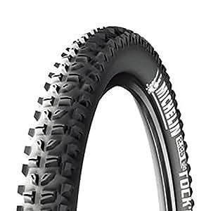 Michelin MTM315  Pneumatico rinforzato Wild Grip'R 26 x 2.40/60-559, Nero