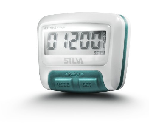 Silva Schrittzähler Pedometer EX Distance 30-0000056046, Weiß