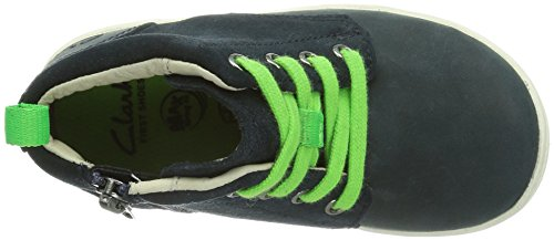 Clarks Maxi Hehe Fst Jungen Sneakers Blau (Navy Leather)