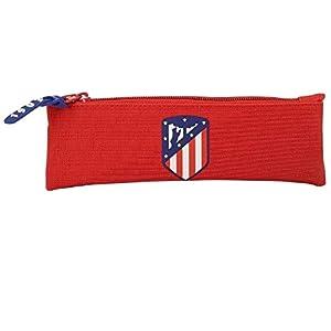 Safta Estuche Atlético De Madrid «Coraje» Oficial Escolar 200x60mm