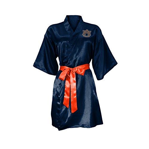littlearth-womens-ncaa-satin-kimono-navy-small-medium