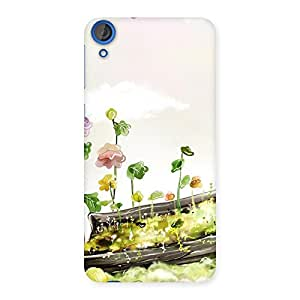 Impressive Fence Landscape Multicolor Back Case Cover for HTC Desire 820