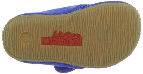 Living Kitzbühel - Baby Klett, Pantofole Bimbo 0-24 Blau (Blue Coral)