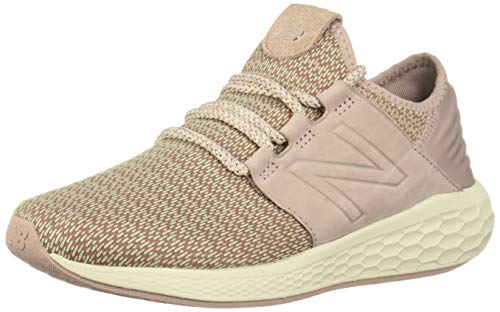 New Balance Damen Fresh Faom Cruz v2 Hygge Pack Sneaker, Pink (Faded Birch/Au Lait/Alabaster Hp2), 43 EU