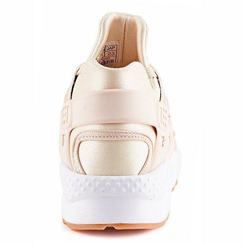 FiveSix Damen Sneaker Sportschuhe Laufschuhe Freizeitschuhe Textilschuhe Schnürschuhe Low-Top Schuhe Pink