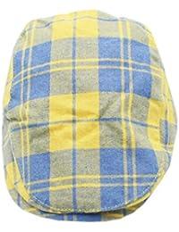 138414912bd ... Men s Boys Gothic Skull Baseball Cap Sun Hat Peaked Embroidered Hats ·  £12.00 · XueXian(TM) Checked Plaid Design Kids Boys Children Flat Cap  Newsboy Hat