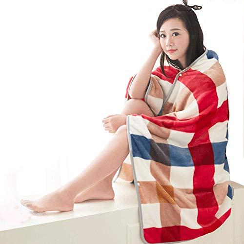 aule Schal-Mantel Damen Decken Bein Decken Für Schlafsaal Büro Und Reise Nutzung,A ()