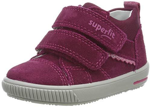 Superfit Baby Mädchen MOPPY Sneaker, Rot (Rot 50), 20 EU