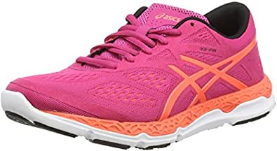 Asics 33-Fa, Chaussures de running entrainement femme - Rose (pink Glow/flash Coral/carbon 3506), 35.5 EU