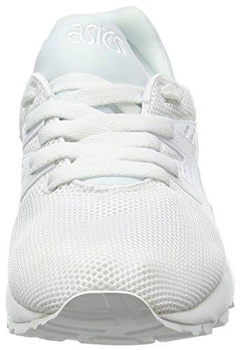 Asics Unisex-Erwachsene Gel-Kayano Trainer Evo Laufschuhe Weiß (white/white)