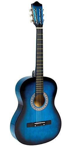 Chitarra Classica 4/4 ridotta colore Blu