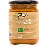 3 x PISTO ECOLÓGICO CON SHIITAKE 425gr Carlota Organic (Incluye 3 tarros)