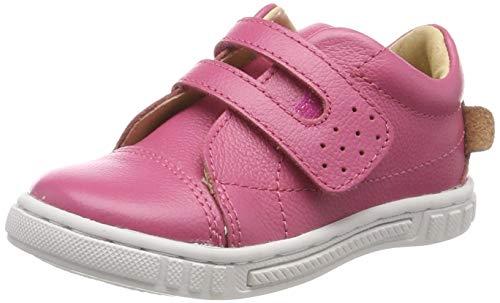 MOVE Baby Lauflernschuh Mädchen Sneaker, Rosa (Hot pink 524), 23 EU Hot Pink Leder
