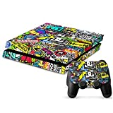 #4: Colorful Skin Sticker Wrap Cover Decal for Sony PS4 & Controller DIY