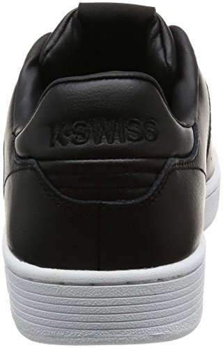 K-Swiss Herren Clean Court Cmf Sneakers Schwarz(BLACK/WHITE)