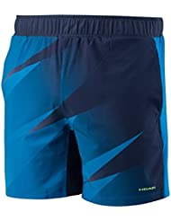 Pantalones cortos HEAD Vision Graphic para hombres, hombre, color azul marino, tamaño XL