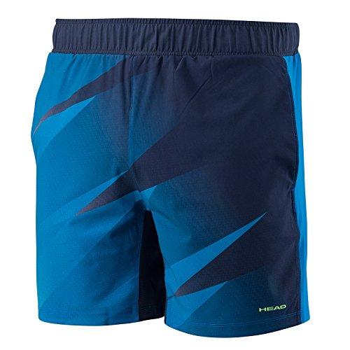 Cabeza de Hombre Visión Graphic pantalones cortos, hombre, color azul marino, tamaño mediano