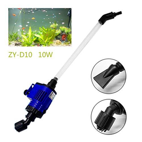 Ballylelly-Aquarium-Wasser-Wechsler-Fisch-KOT-Reiniger-Pumpen-elektrisches Aquarium-Sandwäscher (Elektrische Fisch-tank-wasser-pumpe)