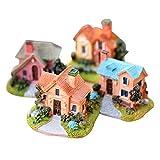 LIOOBO, Mini casa delle Fate in Miniatura, Decorazione paesaggistica, Ornamenti da Giardino