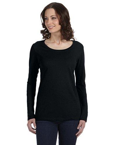 Anvil - Top à manches longues - Asymétrique - Femme noir