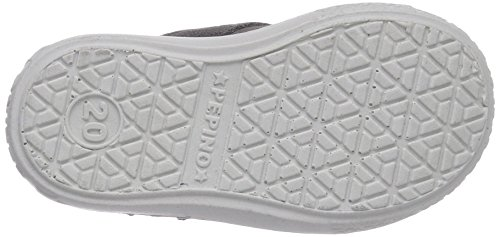 Ricosta Laif Mädchen Hohe Sneakers Grau (patina 457)