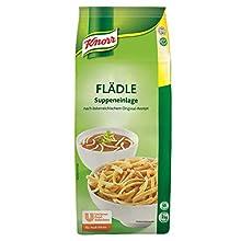 Knorr Flädle Suppeneinlage (Fritatten nach österreichischem Originalrezept) 1er Pack (1 x 1 kg)