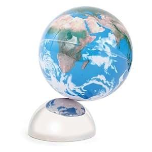 kikkerland kkgb01 s globe terrestre magn tique 12 5 cm. Black Bedroom Furniture Sets. Home Design Ideas