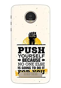 Motorola Moto Z Play Cover, Designer Printed Back Case, Back Cover by Knotyy
