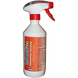 INSECTINO Insecticida Universal - 1 x Spray 500 ML - contra Las Moscas, Mosquitos, Hormigas, ácaros, polillas, cucarachas, arañas, garrapatas