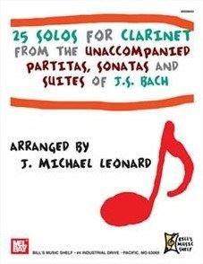 25 Solos for Clarinet. Partitions pour C...