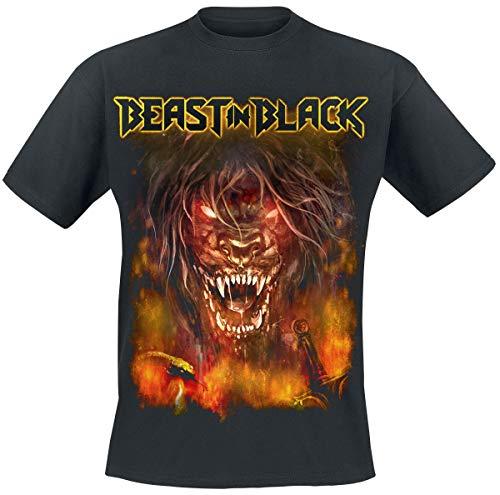 Beast In Black This is War T-Shirt schwarz M (Beast Shirt Black)