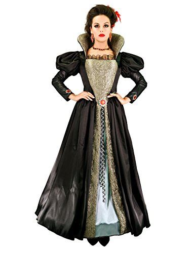 SEA HARE Frauen Vampir Königin Halloween Cosplay Kleid (L)