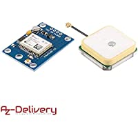 AZDelivery NEO-6M GPS Modul baugleich zu Ublox mit GRATIS EBOOK!