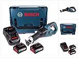 Bosch GSA 18V-32 Professional Akku Recipro- / Säbelsäge brushless in L-Boxx + 2x 6,3 Ah Akku EneRacer + Ladegerät